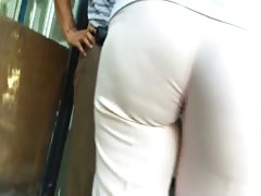 Spy Mature Lady Pink Pants