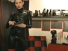 Latex Sexy on webcam