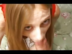 Freckled Redhead Teen Allison Get Her Slit Pounded