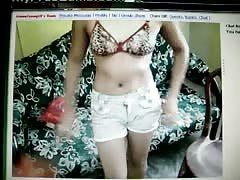 Webcam Babe Undressing
