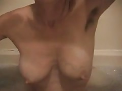 Goddess showing hairy armpits