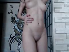 Russian webcam dancing
