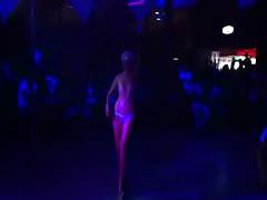 Crazy bitch on stage
