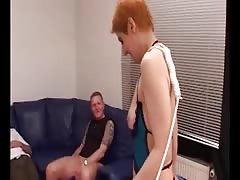 MAGMA FILM German Redhead Milf goes DP