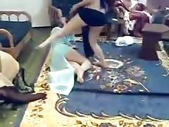 2 Slutty Arab Girls Dancing