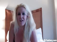 Whitney makes you suck cock for her