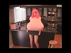 Bianca's Big Fake Tits