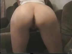 Trimmed pussy of a sexy babe is getting screwed in the missionary pose