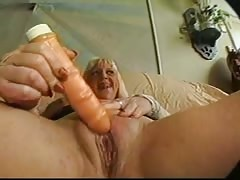 Cock-loving filthy blonde is getting face-fucked in the close-up