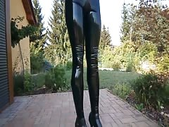 full Latex catsuit