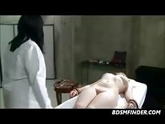Lesbian Femdom Plays Doctor Domination