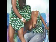 gode  ceinture lesb black