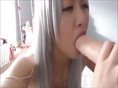 Hot Asian cosplay