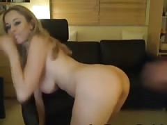 Wife gets a Loadful of Cum on her Face HD