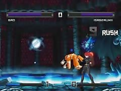 Bao VS Isabeau XIII hentai fight