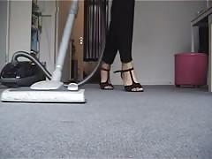 Croma's Big Feet Playing