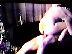 Homemade VHS of Wife Riding on Couch
